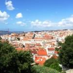 Widok z Castelo de São Jorge