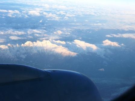 Alpy, chociaż jeszcze nie te najwyższe